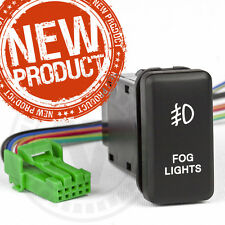 "Toyota Hilux light switch "" FOG LIGHT "" design, Factory Fitting 2005-2015 Hilux"