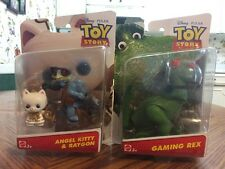 Toy Story That Time Forgot Angel Kitty & Raygon & Gaming Rex NEW