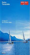 Swiss International Air Lines Timetable  March 27, 2005 =