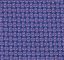 "Gorgeous Hermes Tie Heavy Woven Silk Blue & Pink ""Chaine D'ancre"" Motif Mint!"