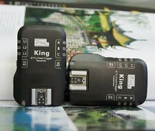 CameraPlus® Pixel King Wireless i-TTL Flash Trigger for Nikon SB series flashes