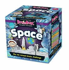 Space BrainBox Game - Children's Night Sky Planets Brain Box Family Memory Game
