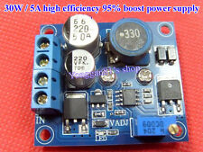 30W 5A DC-DC 5 12 24V to 36V 48V 6-50V Boost Power Supply Module Car Solar Power