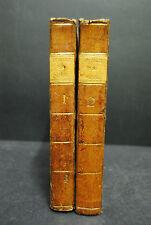 Robert - Voyage dans les XIII Cantons Suisses etc – 2 Bde. Paris - 1789