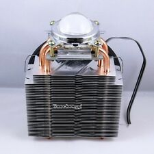 50W-100W high-power LED radiator tube +CPU fan + lens reflector cup fixing ring