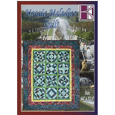 Embroidery Pattern CD - Mosaic Melodies by Kenny Creations - GO! Compatible