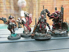 40k forgeworld blood pact traitor guard trench raider army pro painted