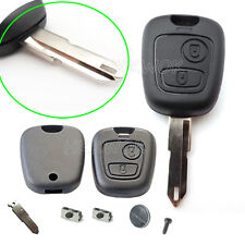 Repair KIT For Peugeot 206 207 307 2 Button Remote Key Case Switches & Battery