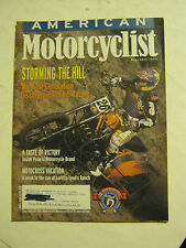 November 1999 American Motorcyclist Magazine  (BD-46)