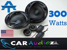 """Autotek 6.5 """" 17cm 2 componente de vías Car Audio Puerta Estante oradores Par 300 W"""