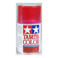 Tamiya PS-37 RC Lexan Polycarbonate Spray Paint (Translucent Red) TAMR86037