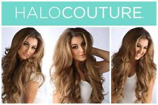 "Authentic Halo Couture 12"" Hair Extension #116 Cool Blonde with Highights"