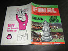 CHELSEA v LEEDS UNITED 1969-70 FA CUP FINAL (ISSUE WITH BOVRIL PLAYER ON BACK)