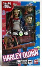 """In STOCK S.H. Figuarts DC """"Harley Quinn"""" (Suicide Squad) Bandai Action Figure"""