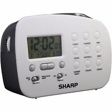 Sharp SPC570 Ceiling Time Projection Alarm Clock, With 9 Different Nature Sounds