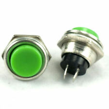 1x Green OFF (ON) Push Button Horn Switch Horn Button New Horn Button fu