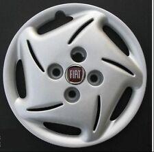 "Embellecedores de rueda Tapacubos FIAT SEICENTO BRUSH 13 "" logotipo rojo"