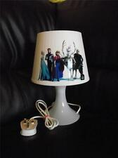 FROZEN - ANNA ELSA OLAF LAMP - PLASTIC - CHILD FRIENDLY