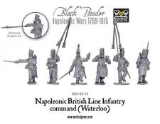 Black Powder Napoleonic British Line Infantry Command Waterloo Warlord Games new