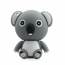 Grey Koala Shaped 16GB USB 2.0 Memory Stick Flash Drive