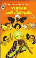 Virgin with Butterflies by Tom Powers-Harlequin Books Facsimile Edition-2009