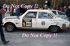 Wadman & Shand Peugeot 504 Ti London to Sydney Rally 1977 Photograph