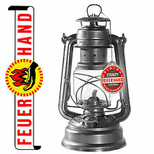 FEUERHAND® NIER Hurricane Oil Lantern 276 Galvanized from Germany Kerosene Dietz