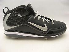 Nike Mens Air Max MVP Metal Baseball Cleats 16 Black Silver Professional Model