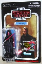 STAR WARS VINTAGE COLLECTION TPM DARTH MAUL VC86 UNPUNCHED MOMC In Stock