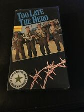 Too Late the Hero (VHS - 1970) NEW Michael Caine