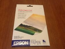 Epson photo paper 4 x 6 20 sheets #so41458