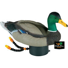 NEW LUCKY DUCK SUPER SWIMMER HD MALLARD DRAKE DECOY SWIMMING MOTION RIPPLES