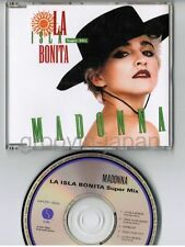 "MADONNA La Isla Bonita Super Mix JAPAN 5"" CD Collectors Series #9 WPCR-1504 w/PS"