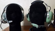 Vintage David Clark H10-40 & Astrocom Crew Headsets - Canadian Air Force