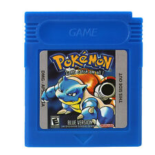 Pokemon Blue Version Game Card for Nintendo GBA SP/GBC/GBA/GBM Game Console Gift
