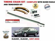 FOR MERCEDES CLK200 CLK230 + KOMPRESSOR 1997-2002 TIMING CHAIN TENSIONER KIT