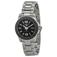 Longines Conquest Stainless Steel Ladies Watch L3.257.4.56.6
