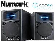 Numark N-WAVE 360 Powered Desktop Studio DJ Monitor Speakers | Active FREE P&P