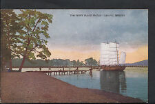 Japan Postcard - The Ferry Place, Monju  429