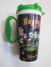 DISNEY THEME PARKS THE HAUNTED MANSION/CHARACTERS MICKEY MUMMY TRAVEL MUG/CUP