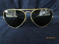 ViNtAgE RAY BAN B&L GOLD FRAME AVIATOR SUNGLASSES1977-1987 with Case