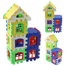 Baby Kids Children House Building Block Educational Developmental Toy BrainGame1