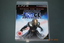 Star Wars The Force Unleashed Ultimate Sith Edition PS3 **FREE UK POSTAGE**