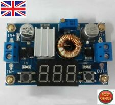 5A DC-DC Adjustable Step-down Module + A Voltmeter Efficiency With Free Pillars