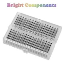 Solderless Prototype Breadboard (170 Points) - Clear - 1st CLASS POST