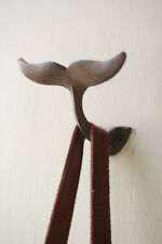 Cast Iron Whale Tail Wall Hook