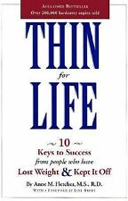 Thin for Life by Anne M. Fletcher (2001, Paperback)
