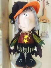 Halloween Witch Made To Look Primitive Doll