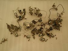 Stern Memory Lane 1978 Pinball Machine Playfield Lot of Metal Light Sockets!