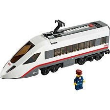 Lego Train City Passenger White High-Speed Engine WITH MOTOR from 60051 - NEW